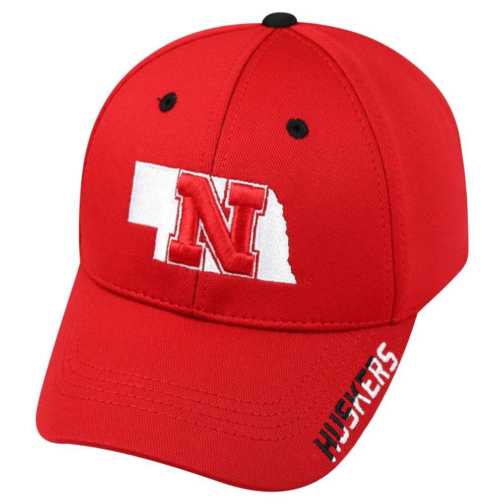 Baseball Hats NCAA Nebraska Cornhuskers Team Color, Men's
