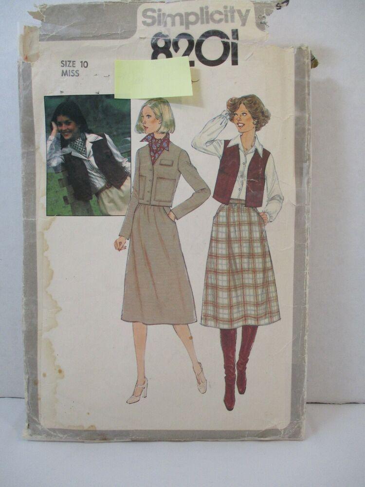 16 Size 12 UNCUT Vintage Super Saver Pattern 7337 14
