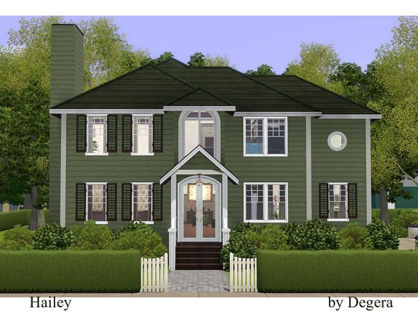 hailey country style family home by degera sims 3 downloads cc