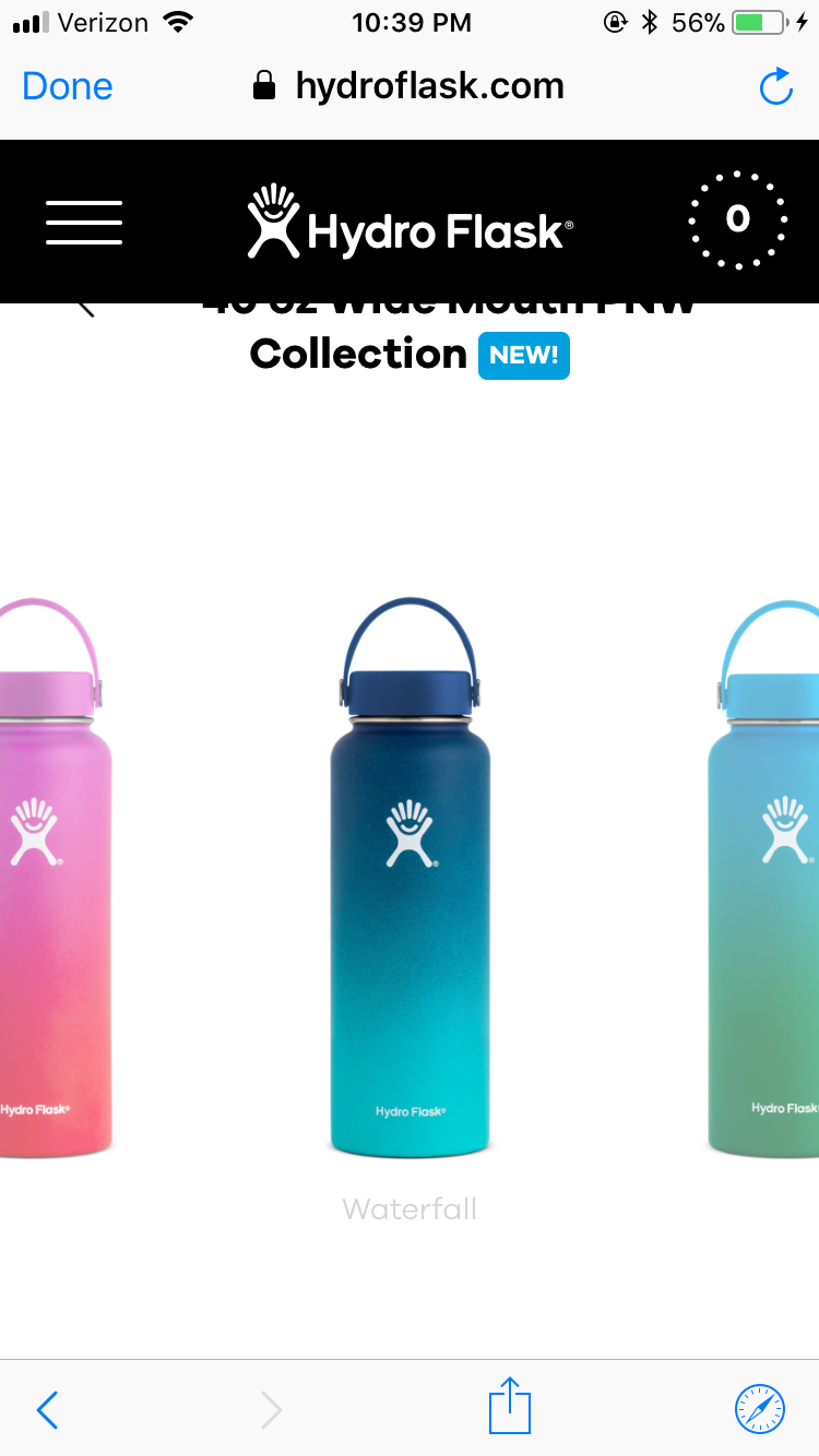 Hydro flask water bottle best water bottle cute water bottles preppy stickers