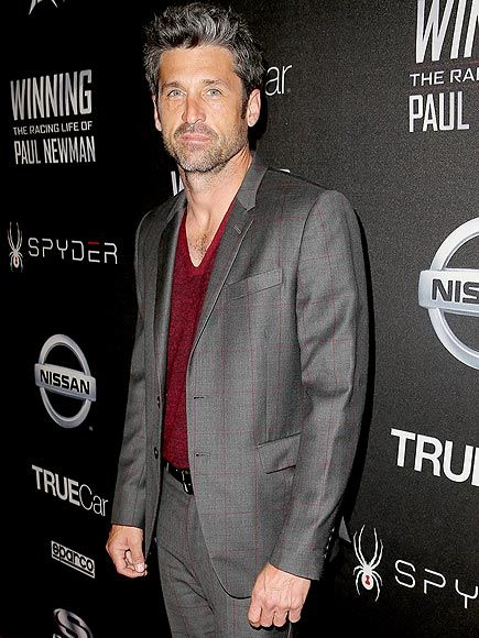 Star Tracks: Monday, April 20, 2015 | SILVER STREAK | Racer/actor Patrick Dempsey is gorgeous in grey as he attends a screening of WINNING: The Racing Life Of Paul Newman on Thursday in Hollywood.