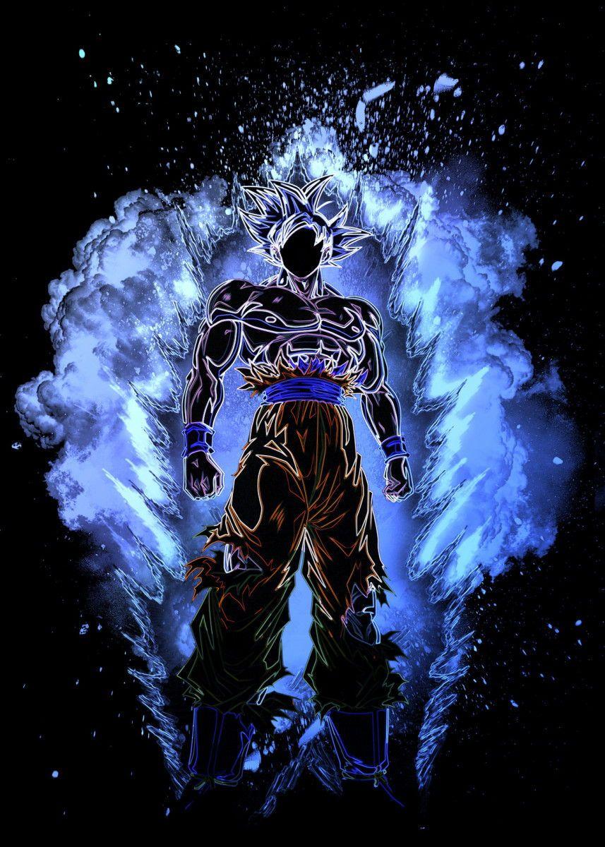 Soul of the Ultra Instinct Anime & Manga Poster Print
