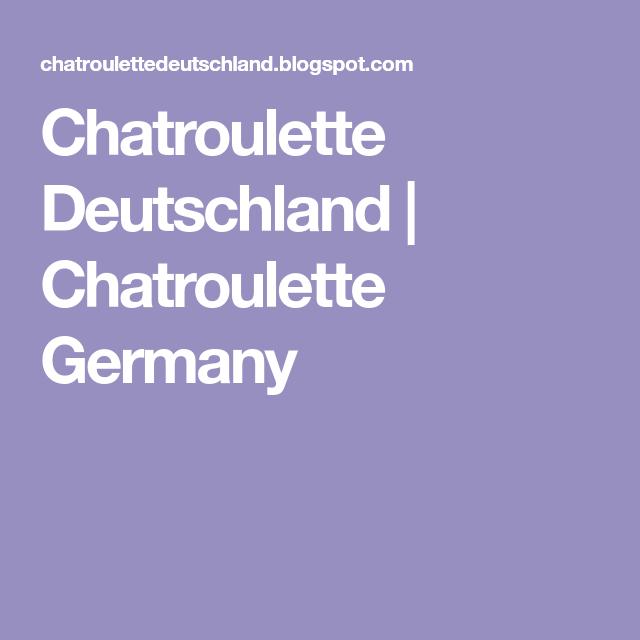 Deutsch chat free random Start Omegle