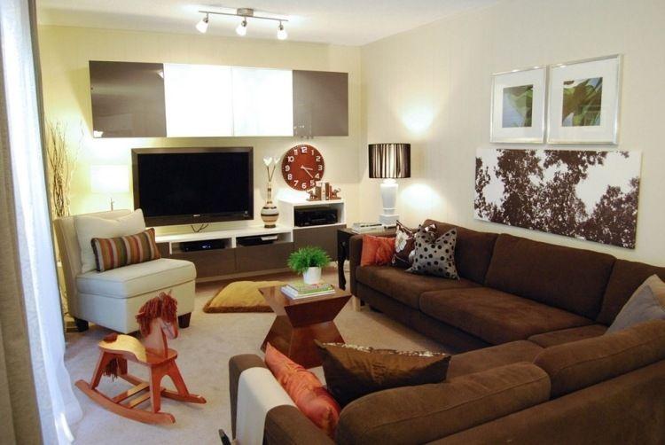 Schön Wohnzimmer Einrichtung Modern Wohnzimmer ideen Pinterest - küche landhausstil gebraucht