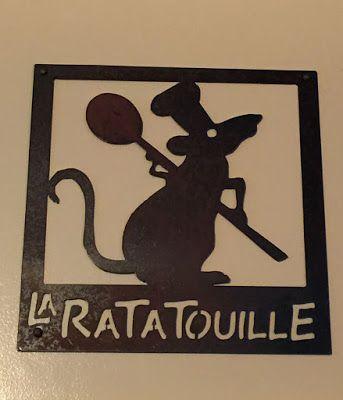 Ratatouille Sign Disney Decor Disney Kitchen Decor Disney Home Decor
