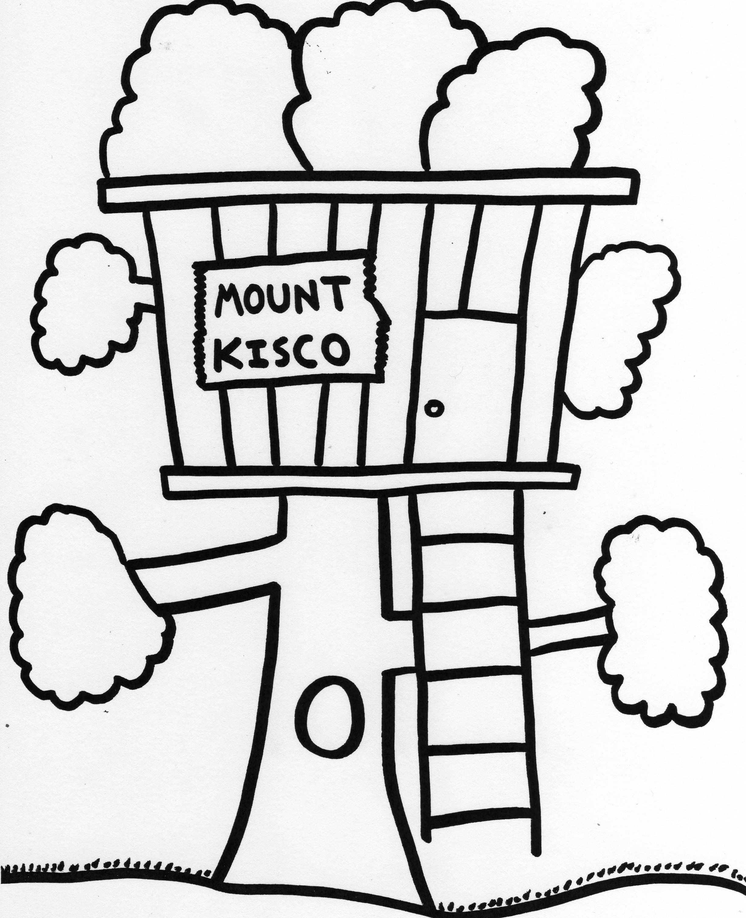 Treehouse Coloring Pages Magic Tree House House Colouring Pages Picture Tree Tree Coloring Page