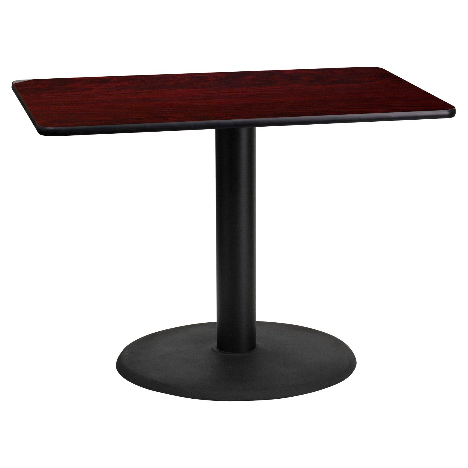Flash Furniture 24 X 42 In Rectangular Laminate Dining Table With