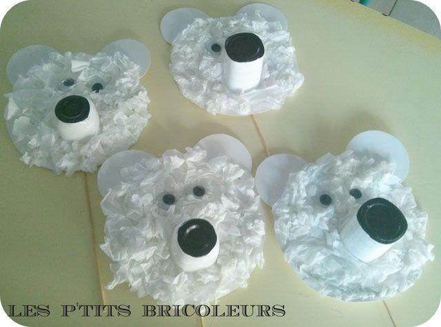 Guirlande des animaux polaires...