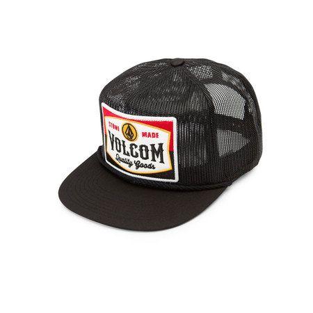 fa239b894a91d Volcom Patch Panel Hat - Black