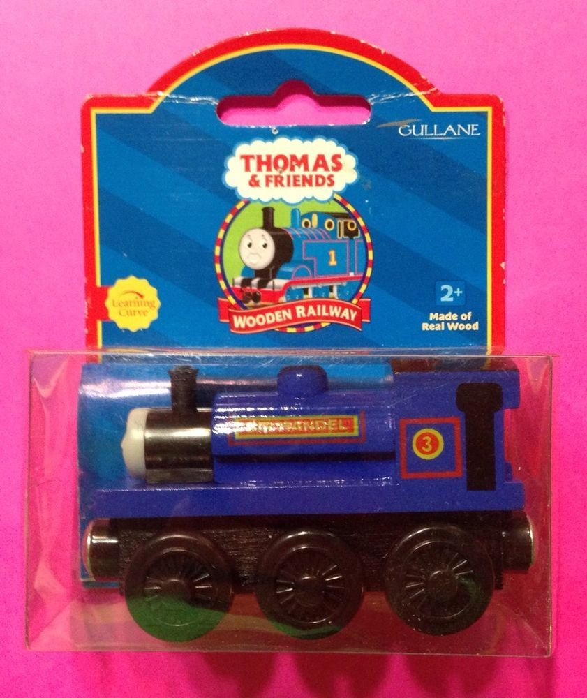 Sir Handel Thomas & Friends Wooden Train Free Shipping