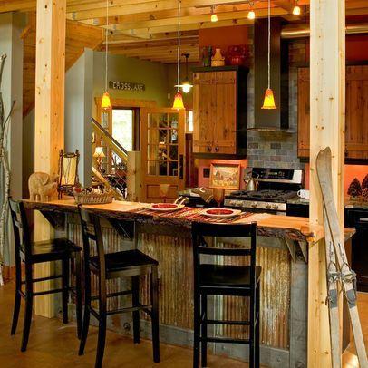 Corrugated Metal Interior Design | Using Tin For Interior Walls | Corrugated  Metal Design Ideas,