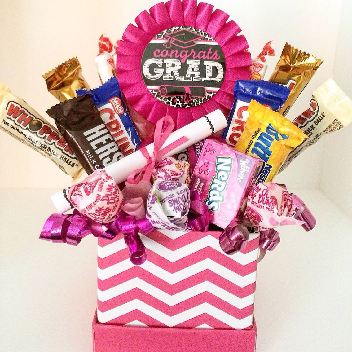 Bridal Shower Gift Basket Climbing On House Halloween: Pin By Dannyelle Linares On Graduation Gift