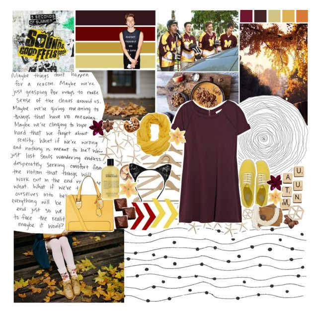 """""""- & - YOUR BiTTER HEART COLD TO THE TOUCH - & -"""" by angie-pie ❤ liked on Polyvore featuring Vanessa Bruno, Vans, Pieces, Topshop, Nestlé, Clips, Hasbro, philosophy, UGG Australia and sunnydazetag"""