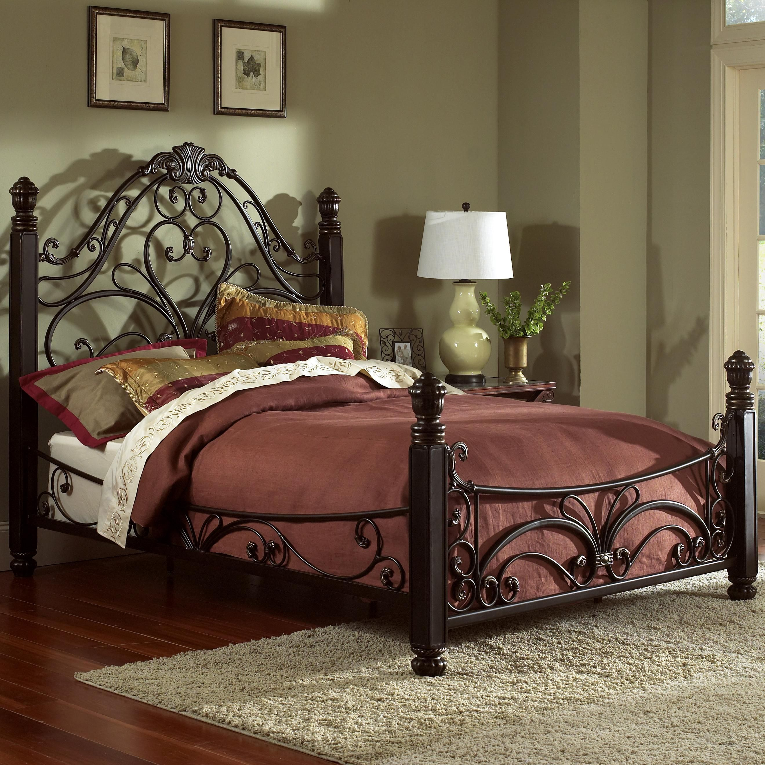 Metal Beds Queen Diana Bed By Largo In 2019 Furniture Bed Metal