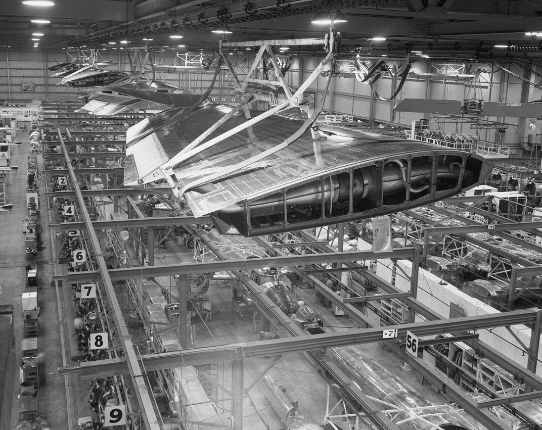 B-25 factory in Kansas City | On the Side | Aviation ...