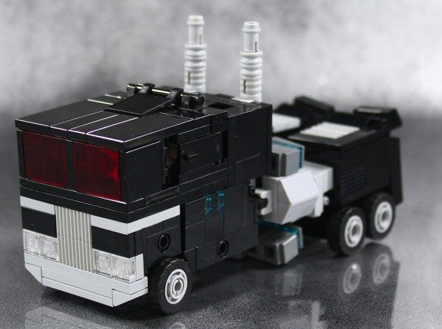 Transforming LEGO Nemesis Prime is *almost* cute | The Brothers Brick | LEGO Blog