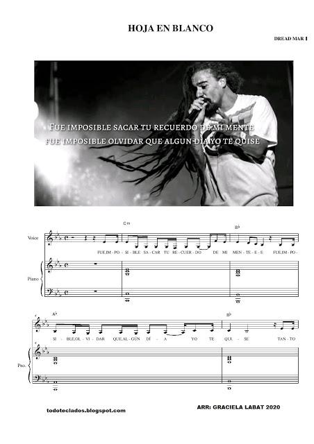 Hoja En Blanco Dread Mar I Letras Y Acordes Andy Gibb John Legend