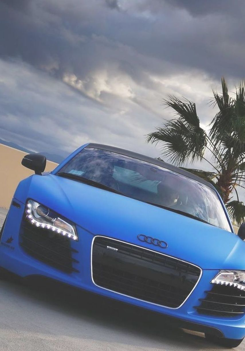 Blue Car Nice And Luxury Cars Not Only Good And Luxurious