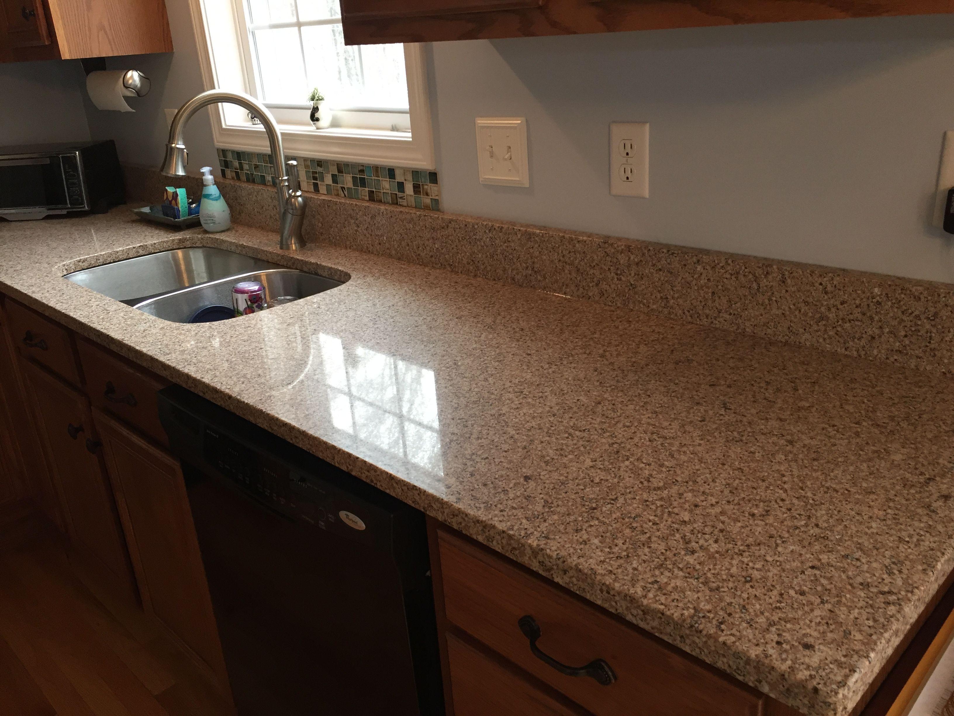 Silestone Quartz Kona Beige Quartz Countertops Kitchen Makeover Oak Cabinets