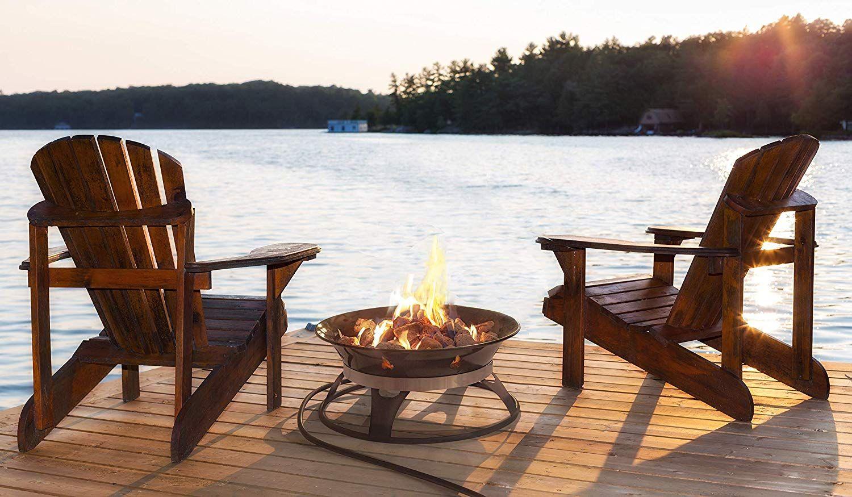 Amazon.com : Outland Firebowl 863 Cypress Outdoor Portable ... on Outland Firebowl 21 Inch id=43434