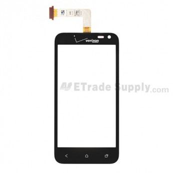 For HTC Droid Incredible 4G LTE Digitizer Touch Panel Replacement - With Logo - Grade S+ #touchpanel