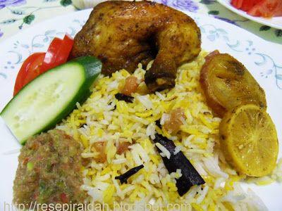 Nasi Mandhi Abu Dhabi Resep Masakan Asia Resep Masakan Resep Masakan Malaysia