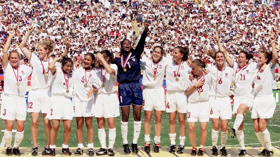 Prestation Of The World Cup Champions Us Womens Soccer Team Usa Soccer Women Us Women S National Soccer Team Women S Soccer Team