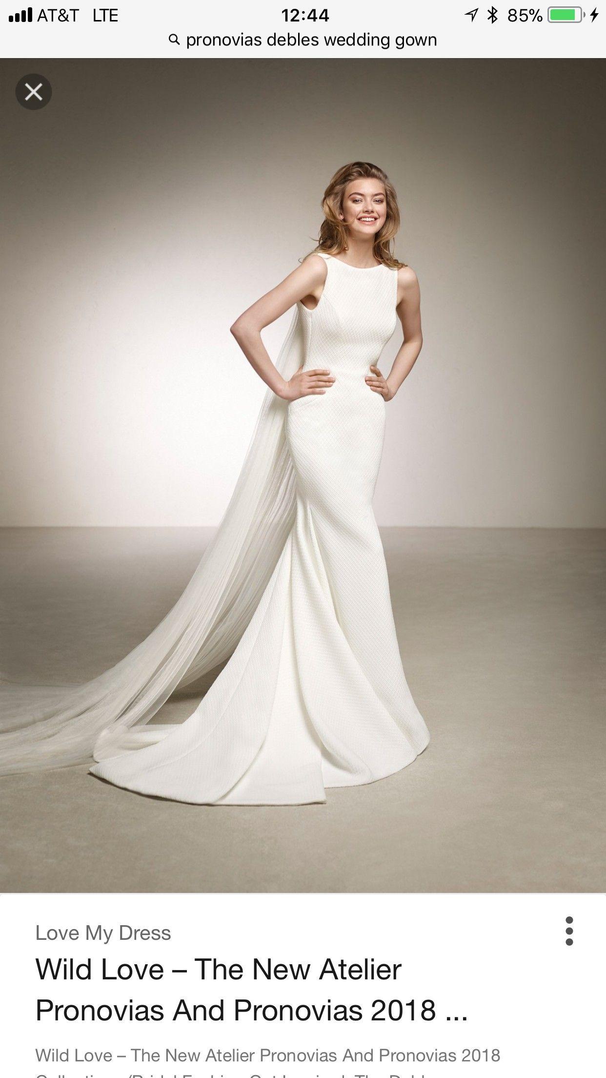df2c5d4af85 Pronovias Debles Wedding Dress on Sale 20% Off