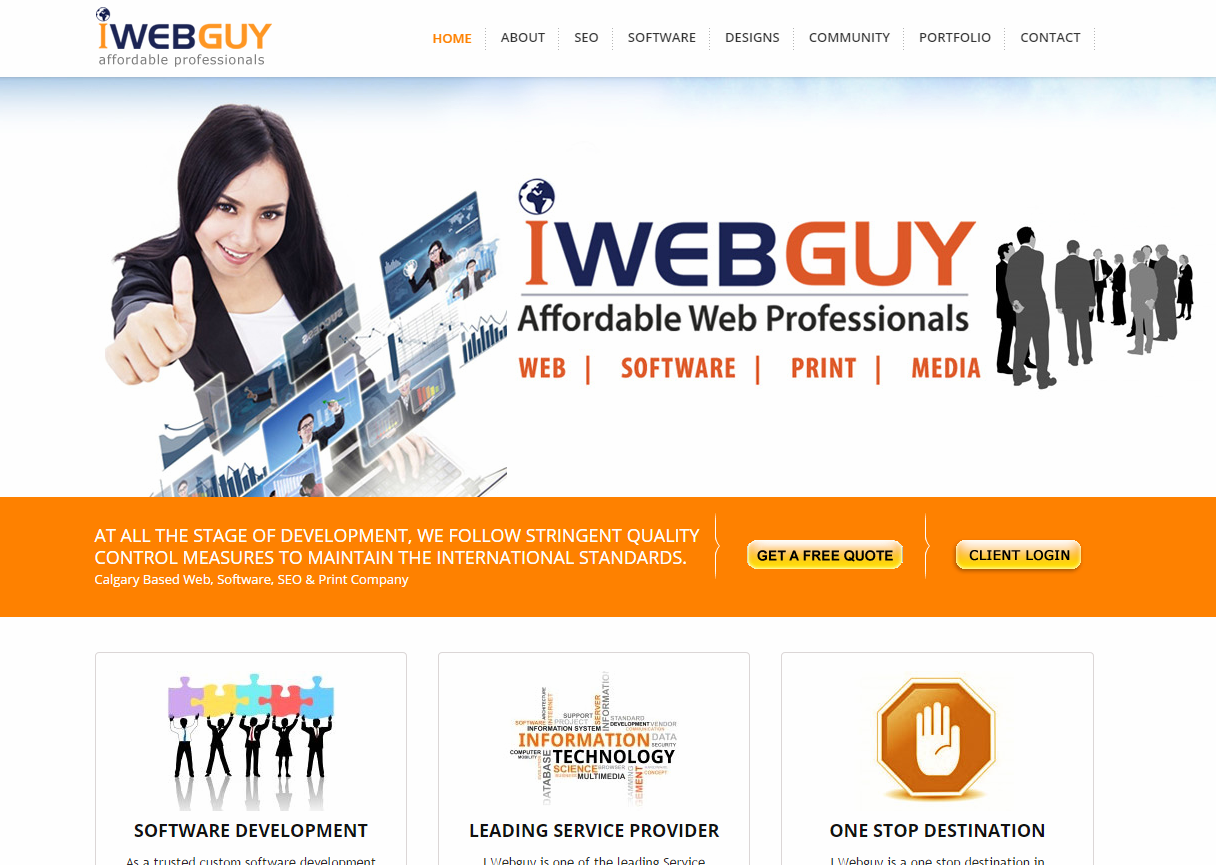 I Webguy Is One Of The Leading Service Providers Of Web Designing Logo Designing E Commerce Seo Multimedia Face Web Software Seo Software Software Design