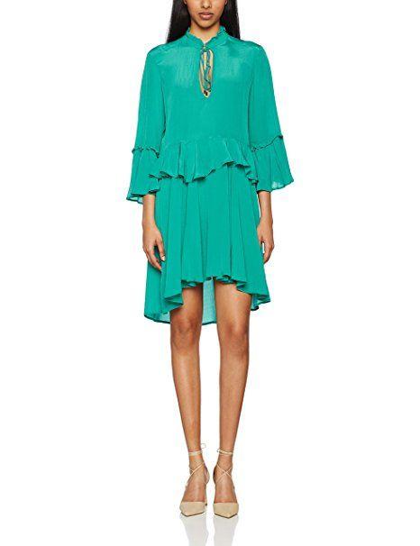 pinko robe femme vert printemps et 2017 mode femme. Black Bedroom Furniture Sets. Home Design Ideas
