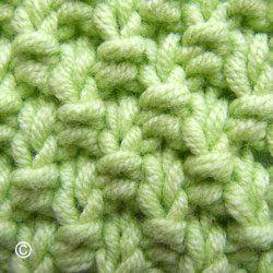 tricoter le point de ble