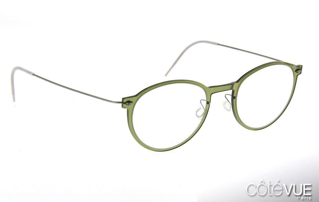 Lunettes Lindberg Now 6527 Vert | eye-glass | Pinterest