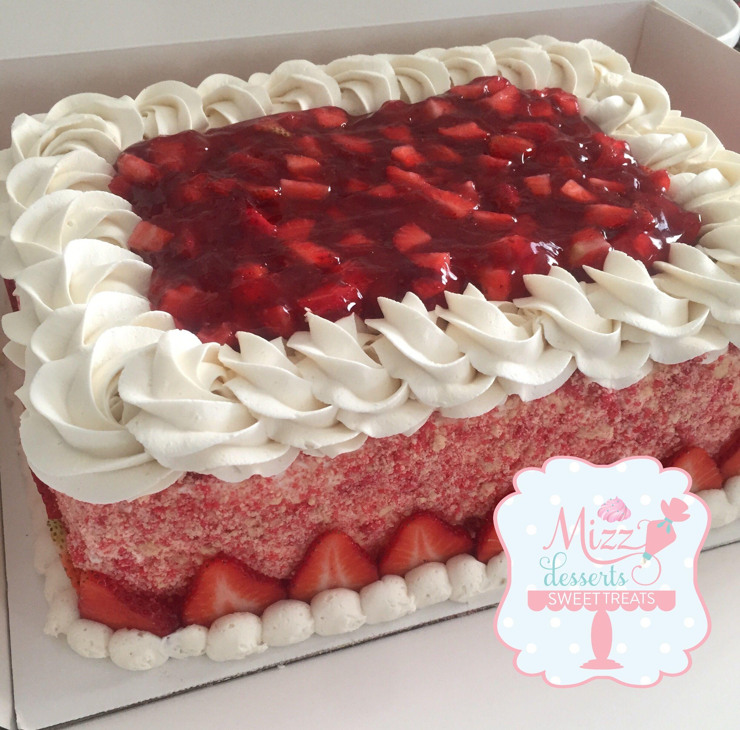 Fine Strawberry Shortcake Sheet Cake Cake Strawberry Shortcake Personalised Birthday Cards Veneteletsinfo