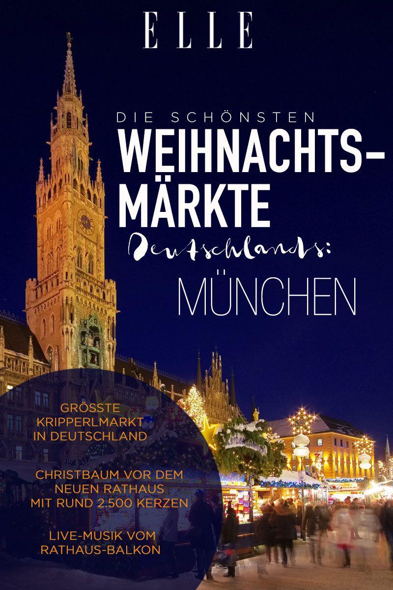 Die Schönsten Weihnachtsmärkte In Deutschland Weihnachten Die