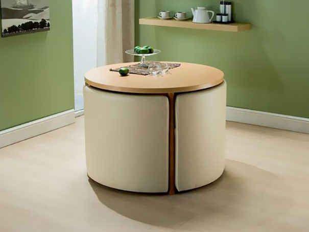 15 Incredibly Satisfying Space Saving Furniture Designs Space Saving Dining Table Space Saving Kitchen Table Space Saving Kitchen