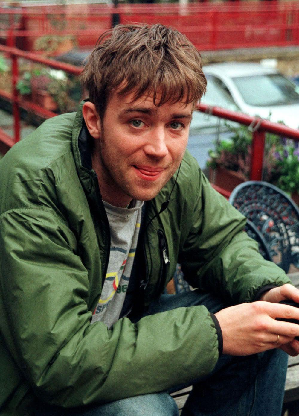 Damon albarn with his signature hair cut bloke for Damon albarn