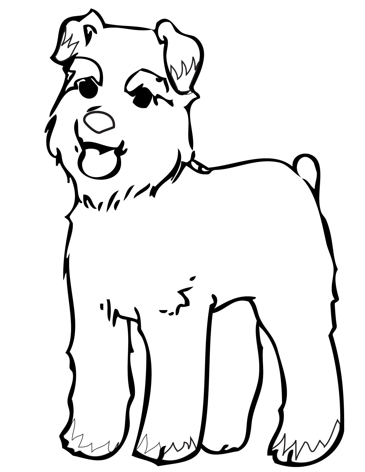 Dog Color Pages Printable | Print This Page | Dogs Coloring Pages | Coloring  Pages