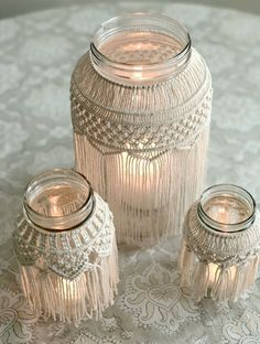 Photo of Video Tutorial Medium Macrame Jar Pattern   Etsy
