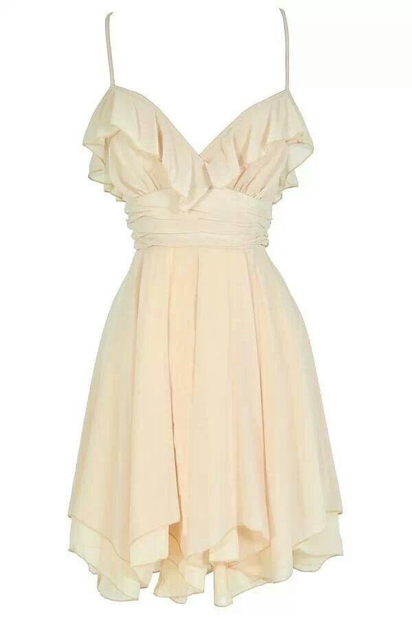 058b8d520e Off White Babydoll Dress