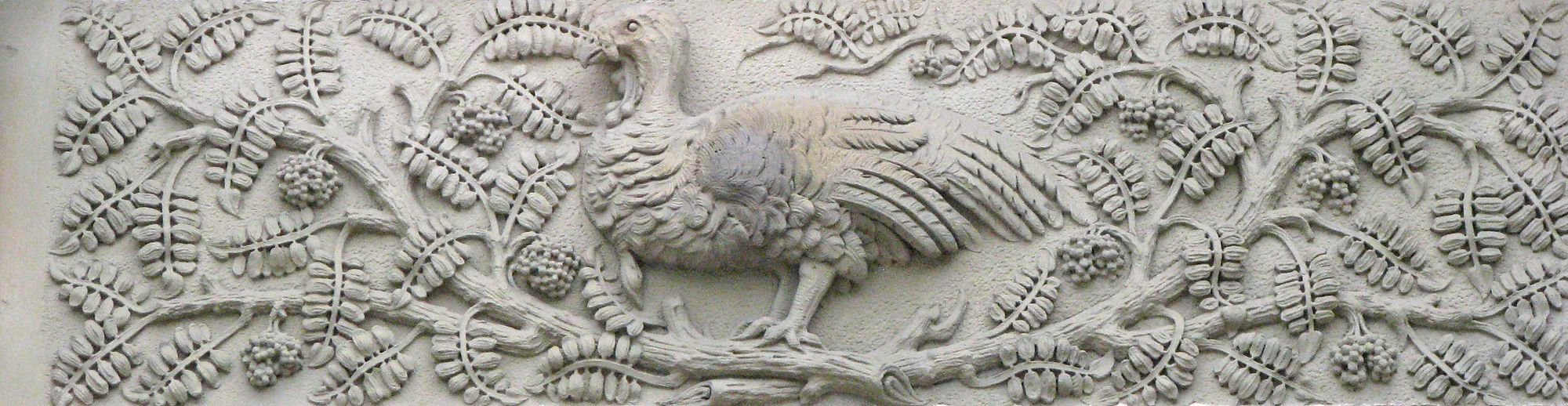 Awesome carving on the outside of the canadian museum of nature