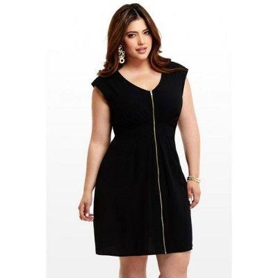 Disenos de vestidos para mujeres gorditas