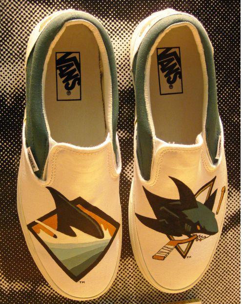 Is It Hockey Yet Shark Shoes San Jose Sharks Hockey Shark Clothes