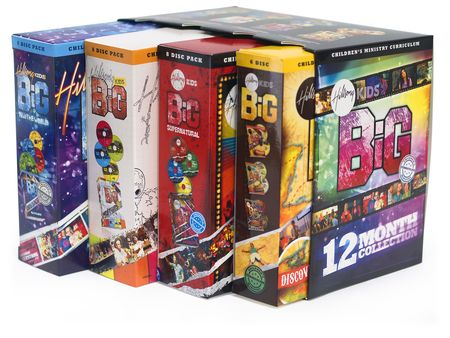 Hillsong 12-Month Big Collection, Children's Ministry DVD ...