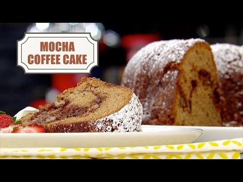 Mocha Coffee Cake - In the Kitchen with Stefano Faita | In ...