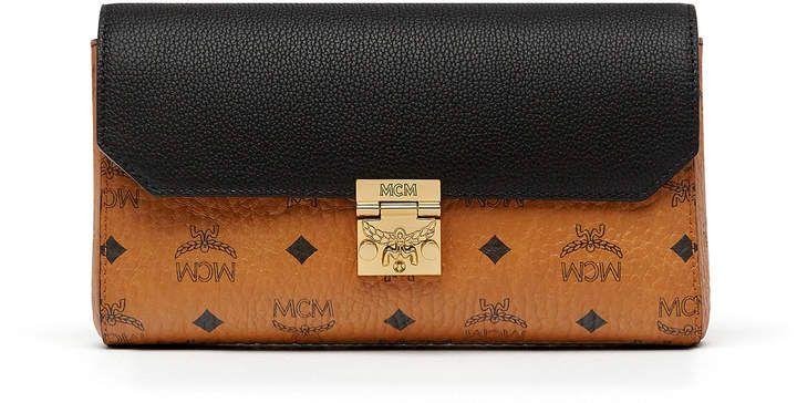 627623c22 MCM Millie Flap Crossbody In Visetos Leather Block   HomenStyle ...