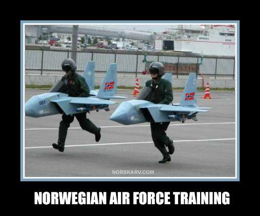 Funny Training Meme : Norwegian air force training meme norway jet fun funny humor wild