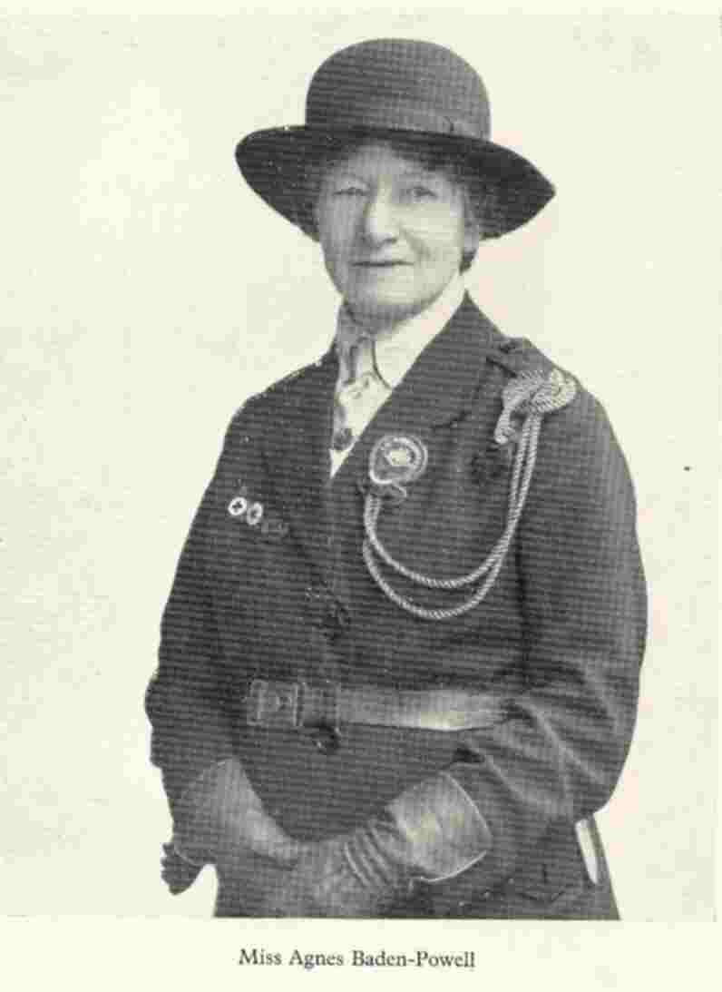 Agnes Smyth Baden Powell 16 December 1858 2 June 1945 Was The