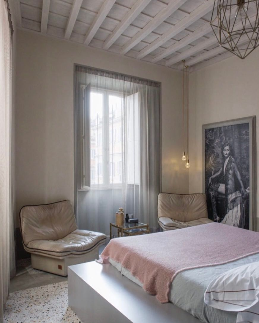 Beautiful bedroom from Casa Cau is a