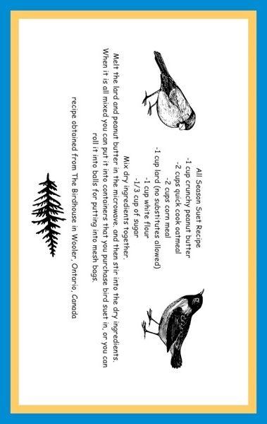 For the Bird Lover - craftygardener.ca