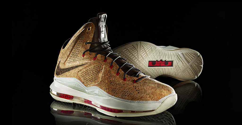 """Nike LeBron 10 """"Cork"""" """"Dappered Up"""" with Burrberry trench Coat ."""